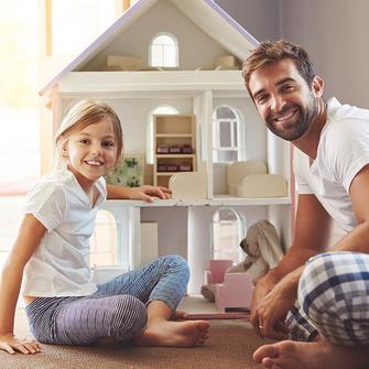 Haus bauen für die junge Familie