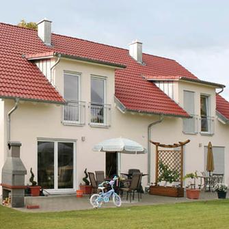 Doppelhaus Grundrisse