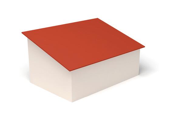 Dachform Pultdach