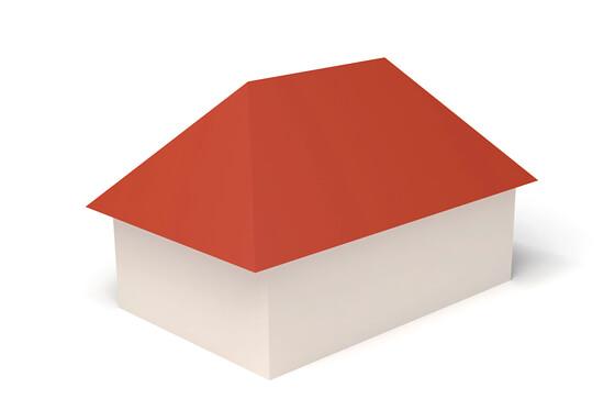 Dachform Walmdach
