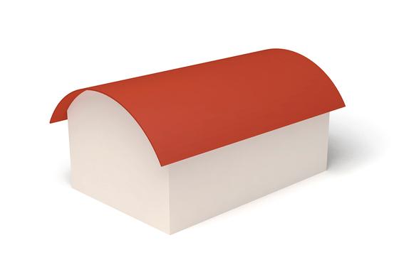 Dachform Tonnendach