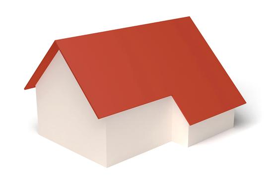 Dachform Schleppdach