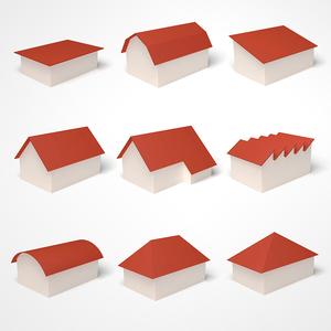 Dachformen Gruppenbild